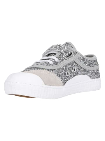 Kawasaki Kinderschuhe Glitter Kids Shoe W/Elastic in 8889 silver