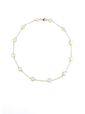 Perlas Orquidea  Perlenkette Kette Laila in weiß