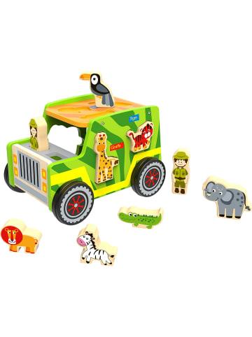 Tooky Toy Formpuzzle Safari Jeep