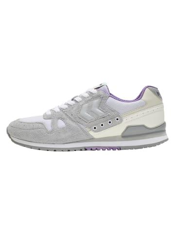 Hummel Sneakers Low Marathona Suede in QUARRY