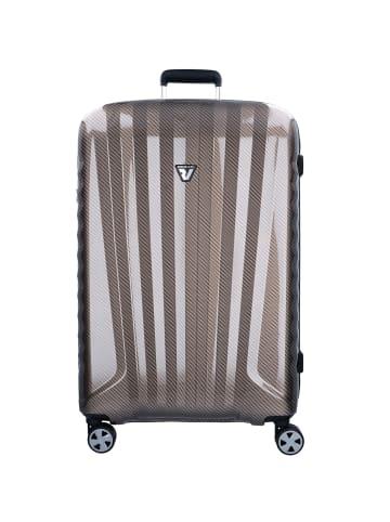 Roncato UNO ZSL Premium 4-Rollen Trolley 81 cm in nero carbon warm grey