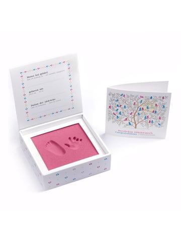 Berlindesign.store Baby Hand- und Fußabdruckset 3D in Pink