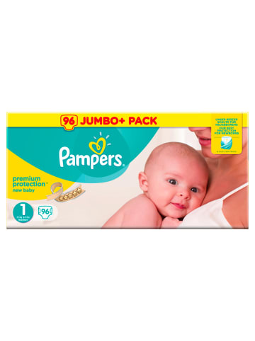 "Pampers HalbmonatsBox ""Pampers Premium Protection New Baby"" Gr.1 Newborn, 2-5kg (96 St.)"