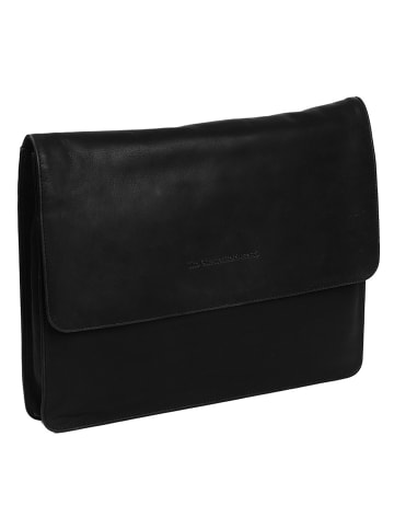 The Chesterfield Brand Wax Pull Up Ivery Aktenmappe Leder 39 cm in schwarz