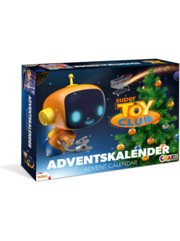 Craze Adventskalender Super Toy Club 41 x 32,5 x 6,2cm