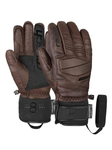 Reusch Fingerhandschuhe Marcel Hirscher R-TEX® XT in dark brown