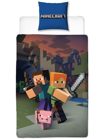 "Minecraft Kinder Bettwäsche-Set ""Minecraft"" in Bunt"