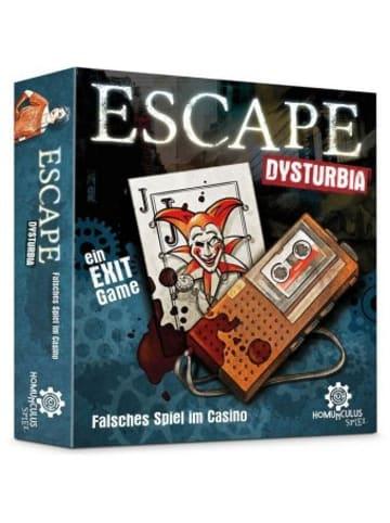 Homunculus verlag ESCAPE Dysturbia: Falsches Spiel im Casino (Spiel)
