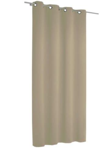 Albani Vorhang Black Out, blickdichter Verdunkelungsvorhang, 245 x 135 cm, taupe