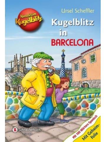 EGMONT Schneiderbuch Kommissar Kugelblitz - Kugelblitz in Barcelona