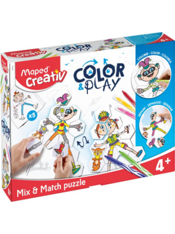 Maped Puzzle COLOR & PLAY