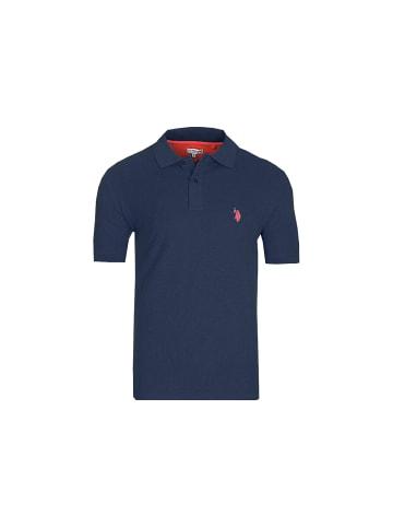 U.S. Polo Assn. US Polo Assn. Basic Poloshirt in DUNKELBLAU