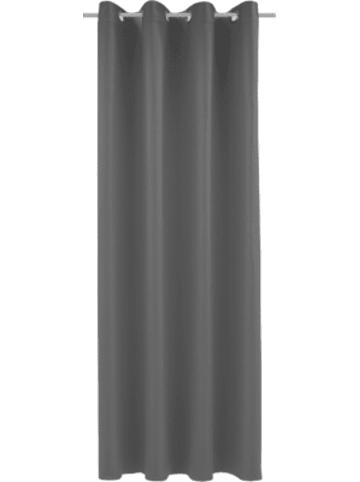 Albani Vorhang Black Out, blickdichter Verdunkelungsvorhang, 245 x 140 cm, anthraz...
