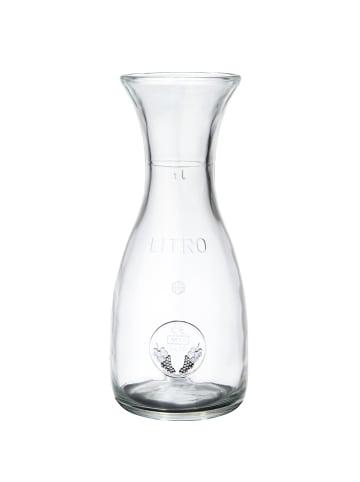 Butlers Karaffe 1000ml VINO in transparent