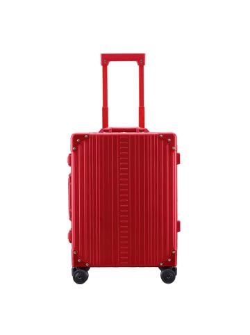 Aleon Traveler Domestic 4-Rollen Kabinentrolley 55 cm in ruby