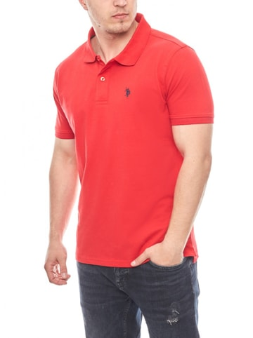 U.S. Polo Assn. Basic Poloshirt in ROT