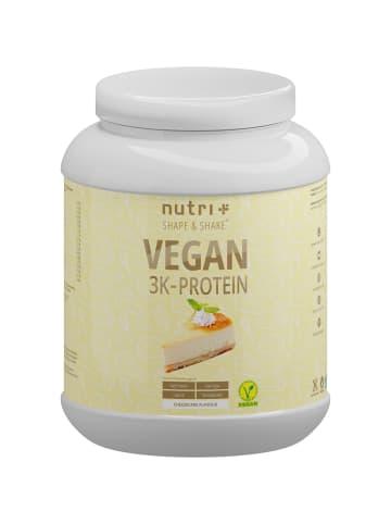 Nutri+ Pulver Vegan 3K Proteinpulver (1000g) in Käsekuchen