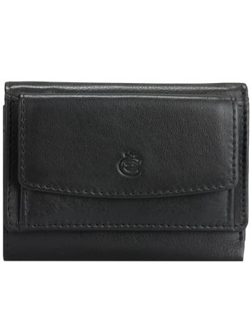 Esquire Eco Geldbörse Leder 10 cm in black