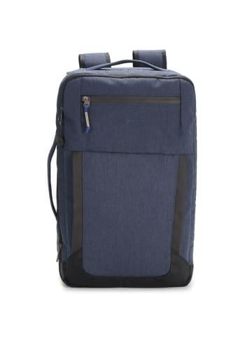 Hedgren Keyed Rucksack RFID 45 cm Laptopfach in dark blue