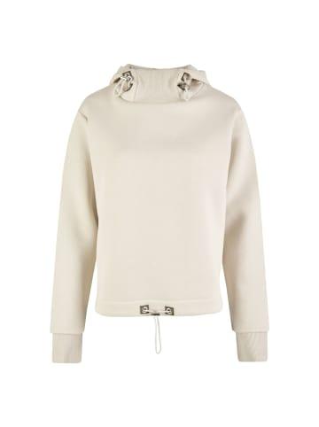 Vestino Kapuzen-Sweatshirt in creme