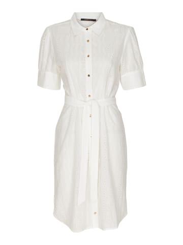 Caddis Fly mittellanges Shirtkleid Hannah in off-white