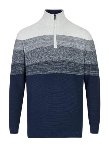 Bexleys man Sweatshirt in Marine/Natur
