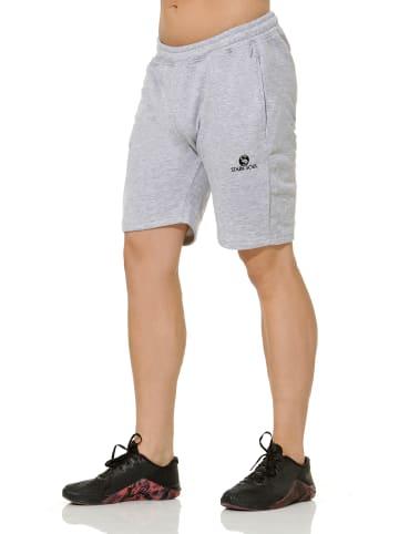 Stark Soul® Sweatshorts Sweat Bermuda in Grau