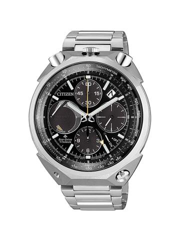 Citizen Chronograph Uhr 'Promaster Land' In Schwarz/Silber