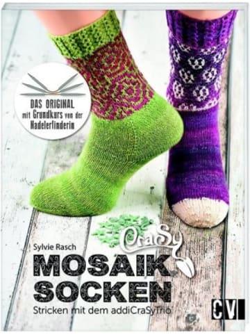 Christophorus CraSy Mosaik - Socken Stricken mit addiCraSyTrio