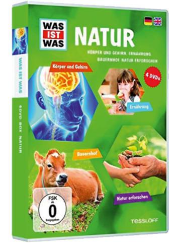 Universum DVD Was ist Was - Natur 2 - Box 5