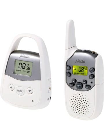 Alecto DBX-92 - Babyphone mit Reichweite von bis zu 3.000 Metern, weiß/anthrazit