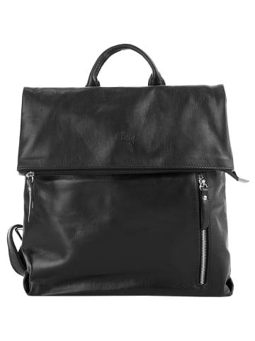 Cluty City-Rucksack in schwarz