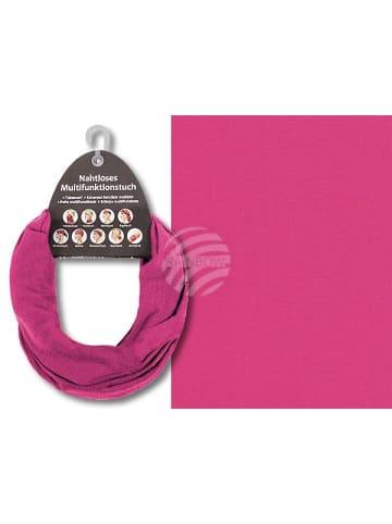 MeinVIPShop Multifunktionstuch pink