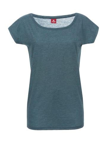 Nastrovje Potsdam Loose-Shirt Nastrovje Potsdam Loose Shirt in blau meliert