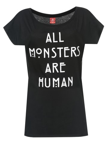 American Horror Story T-Shirt All Monsters Are Human in schwarz