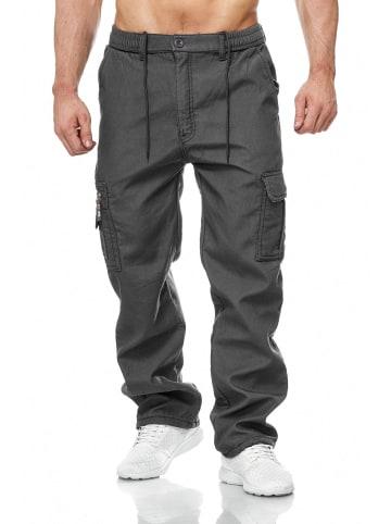 Max Men Cargo Hose Arbeitshose Gefüttert Workwear H2000 in Grau