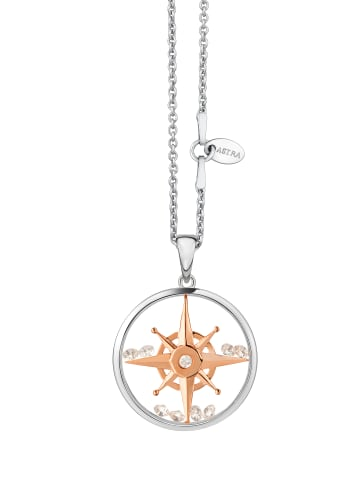Astra Kette mit Anhänger COMPASS in rose gold
