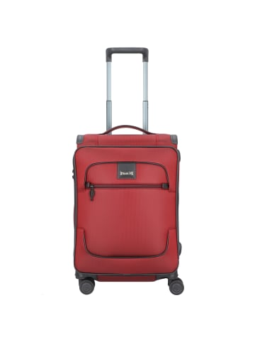 Stratic Bay S 4-Rollen Trolley 57 cm in rubyred