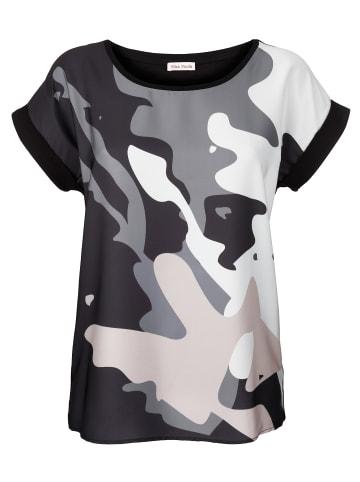 Alba Moda Shirt in Grau,Beige