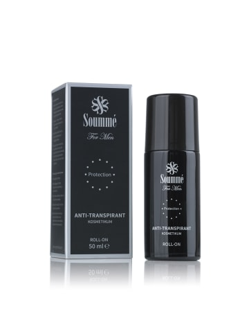 Soummé Antitranspirant Protection Roll-On for Men - 50 ml