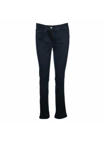 ZERRES Skinny Fit Jeans in blau