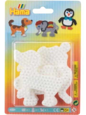 Hama Bügelperlen HAMA 4572 midi-Stiftplatten Elefant, Pinguin, Hund