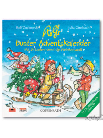 """UNIVERSAL CD Rolf Zuckowski und Freunde""""Rolfs Bunter Adventskalender"""""""