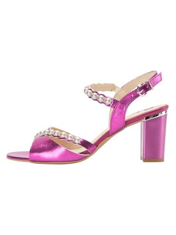 MyMo at night Sandalette in pink metallic
