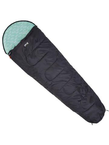 OPEN AIR Mumienschlafsack Neptune in schwarz/grün