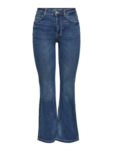JACQUELINE de YONG Flare Jeans JDYNWFLORA Denim Schlag Hose in Blau
