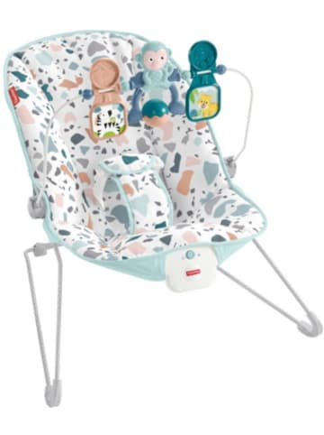 Mattel Fisher-Price Basis Babywippe mit Vibration und Spielbügel, moderne Baby-Aus...