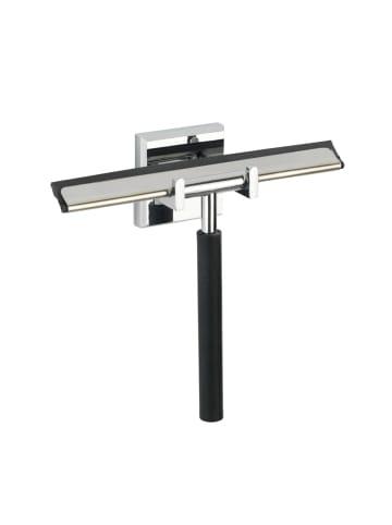 Wenko Power-Loc® Badezimmerwischer Laceno, Edelstahl, Befestigen ohne bohren in Chrom