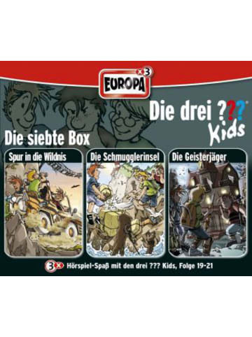 Die drei Fragezeichen Die drei Fragezeichen-Kids - 3er Box, 3 Audio-CDs