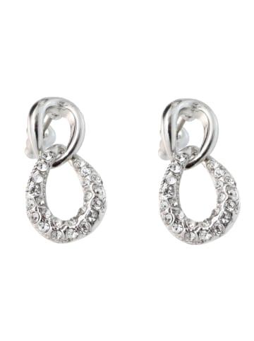 "Exclusive Edition  Ohrringe ""Infinito"" mit Swarovski Kristallen in Silver"